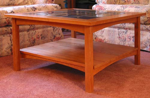 Furniture Design, Mission style coffee table, Woodwork, Fairfield, VA