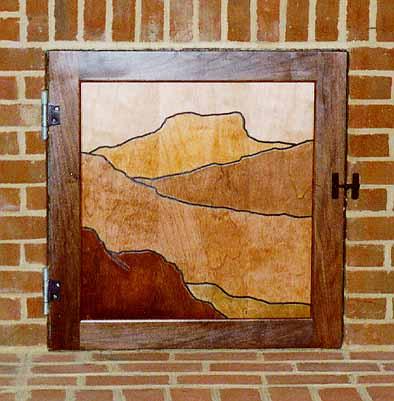 Dumbwaiter doors wood trim doors for Exterior dumbwaiter